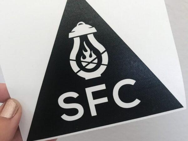 SFC Triangle Sticker